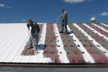 Be ensured by proofing for a house with roof coating