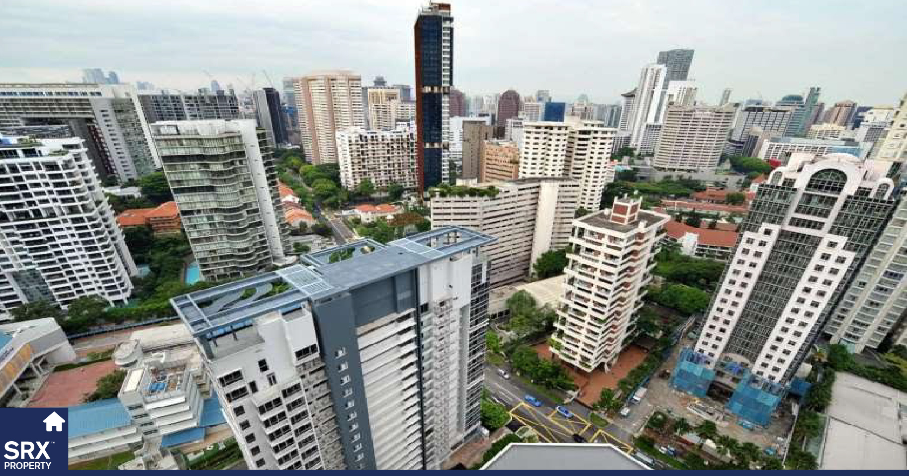 Present day Condos or apartment suites in Singapore